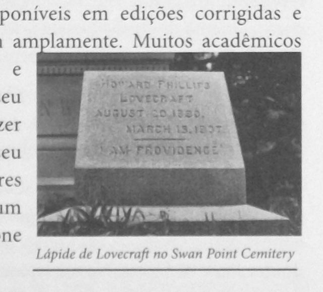 O Mundo Fantástico de H. P. Lovecraft - Biography Page xxxix with Will Hart Photo Detail