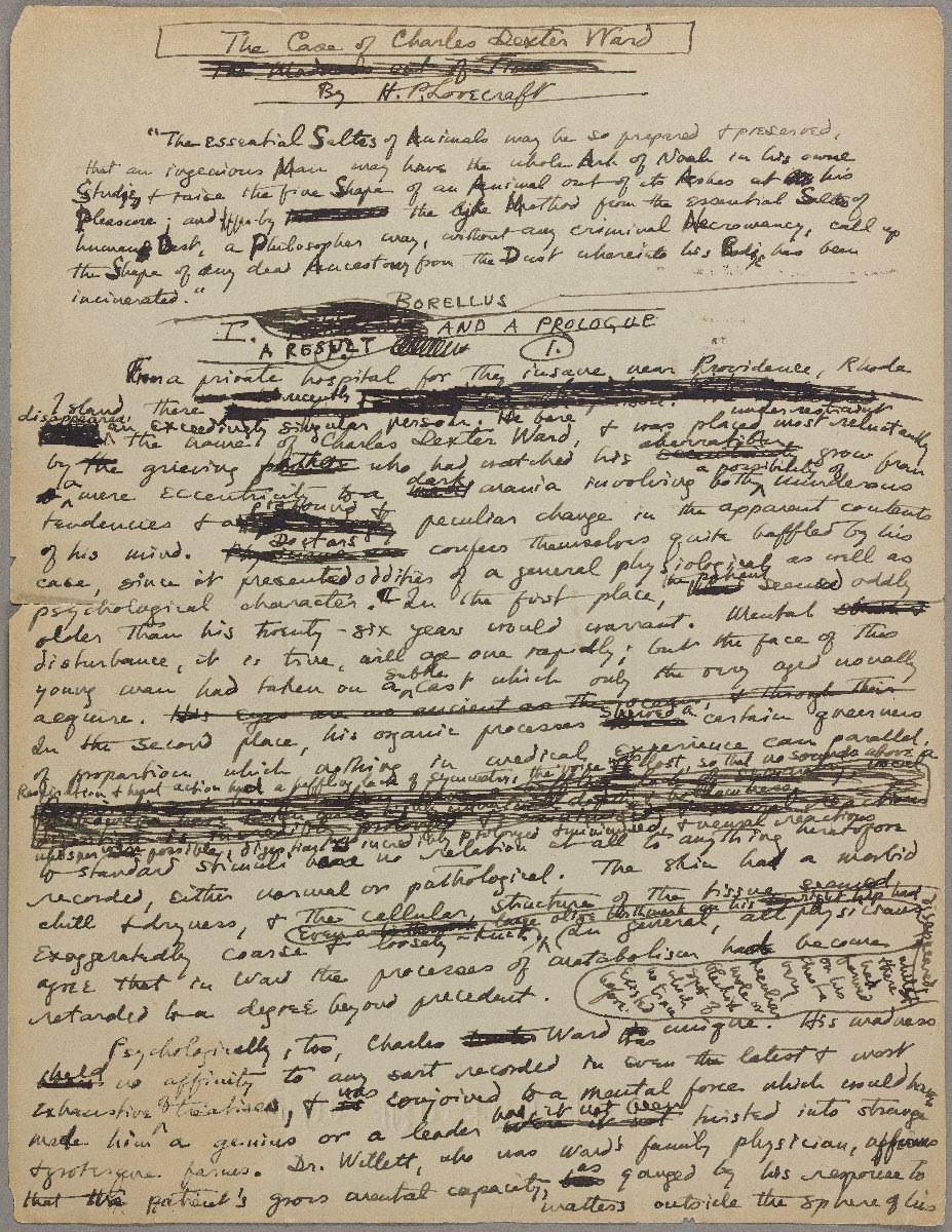H.P. Lovecraft and Gothic Literature Free Essay Sample