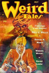 Weird Tales Cover-1952-07